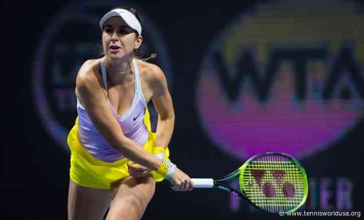 St. Petersburg: Belinda Bencic dashes Kuznetsova's run; Konta ousted