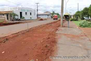 Iniciadas obras de revitalização da Rua Dr. Osvaldo Cruz em Mercedes - O Presente
