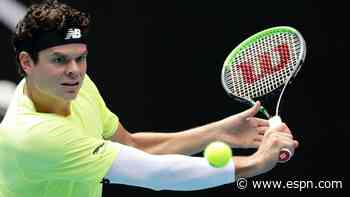 2nd-seed Raonic toppled in opener at N.Y. Open
