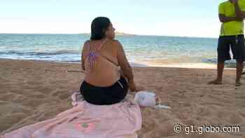 Corpo é encontrado na Praia de Itaparica, em Vila Velha - G1