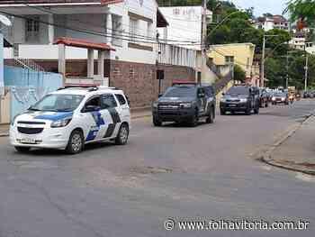 Dois homens são presos durante operação Força Total em Mimoso do Sul - Jornal Folha Vitória