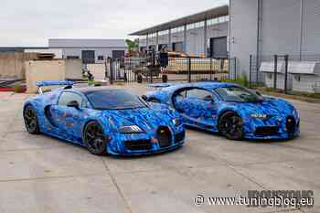 Gumball 3000: Bugatti Chiron und Veyron von DJ Afrojack - tuningblog.eu