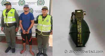 Capturado en el mercado de Maicao con una granada - Diario La Libertad