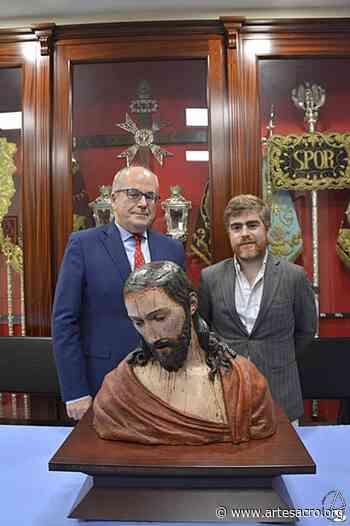 Carlos Peñuela Jordán presentó la restauración de la obra escultórica titulada «Ecce Homo» en San Esteban - Arte Sacro