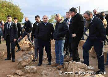 Netanyahu: El Valle del Jordán y los asentamientos serán anexados sólo con el consentimiento de EEUU - Aurora