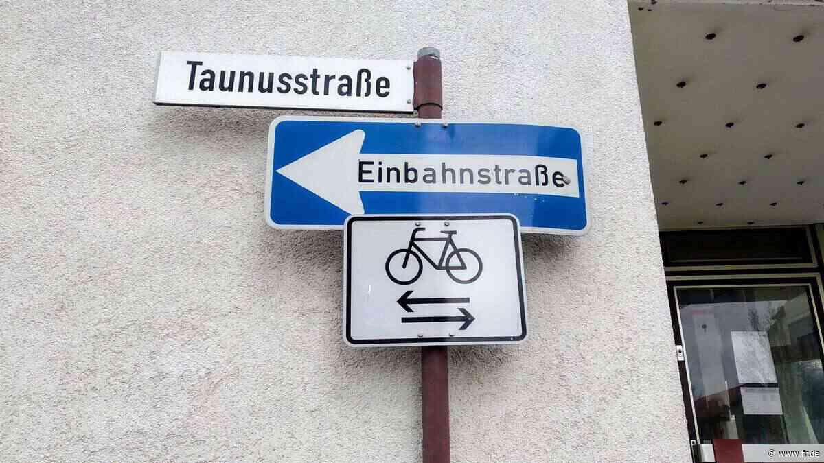 Kriftel: Einbahnstraßen für Fahrradfahrer offen - Frankfurter Rundschau