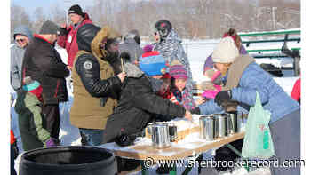 Scenes from the Stanstead winter carnival - Sherbrooke Record