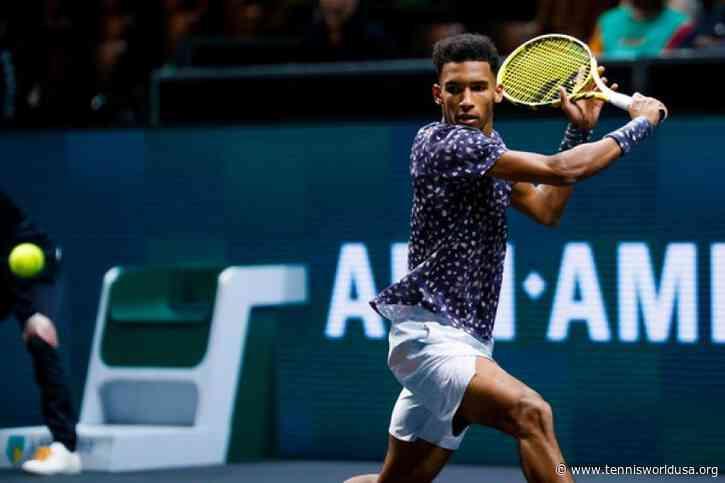 ATP Rotterdam: Felix Auger-Aliassime downs Grigor Dimitrov. Monfils and Goffin win