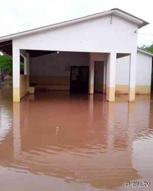 Población indígena de Charagua bajo agua por las intensas lluvias - eju.tv