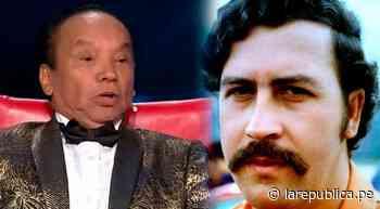 Pablo Villanueva 'Melcochita' asegura que Pablo Escobar le dio 3 mil dólares por presentación - LaRepública.pe