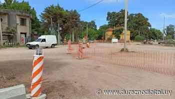 Se solicita transitar con precaución por construcción de rotonda en Santa Bernardina - duraznodigital.uy
