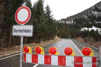 """Sturmtief """"Sabine"""": Weiterhin sturmbedingte Behinderungen: Jochpass B308 bleibt vorläufig gesperrt - all-in.de - Das Allgäu Online!"""