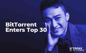 Tron Founder Justin Sun Delivers on His Promise: BitTorrent (BTT) Enters Top 30 - U.Today