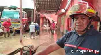 Cusco: Bomberos auxiliaron a damnificados en Pisac antes de proteger su local - LaRepública.pe