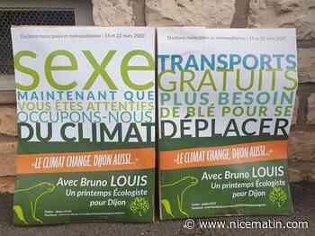 La stratégie drôle et osée d'un candidat à la mairie de Dijon pour attirer l'attention des électeurs