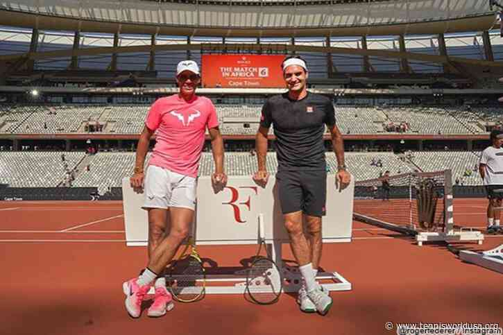 Roger Federer is amazed by the week he spent with Rafael Nadal e co. in South Africa