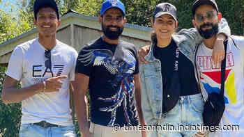 Ahead of Valentine's Day, Anushka Sharma and Virat Kohli hang out with friends in New Zealand