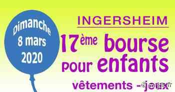 17ème bourse pour enfants - Ingersheim - Bourse aux jouets et vêtements d'enfants - Salle polyvalente - Journal des spectacles