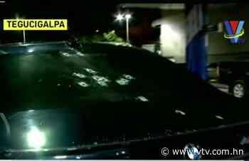 Vehículo del abogado Carlos Padilla habría recibido al menos 14 impactos de bala - vtv.com.hn