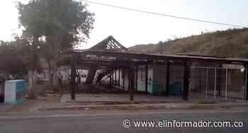 Corto circuito habría provocado incendio en restaurante de Ariguaní - El Informador - Santa Marta