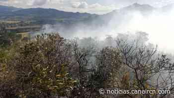 Explosión de laboratorio de drogas provocó incendio forestal en Guasca - Canal RCN