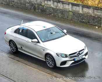 Mercedes testet Fußgängererkennung in Kirn - WochenSpiegel