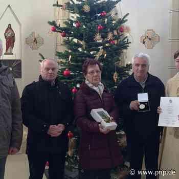 Stephanusplakette für Franz Garhammer - Kirn - Passauer Neue Presse
