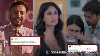 'Angrezi Medium' trailer: Fans call Irrfan Khan, Kareena Kapoor and Radhika Madan-starrer a 'hit'