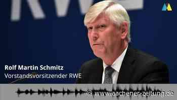 Braunkohle: RWE-Chef zur Zukunft von Manheim und Morschenich - Aachener Zeitung