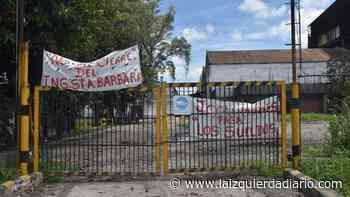 Trabajadores del Santa Bárbara protestan ante la falta de pago de salarios - La Izquierda Diario
