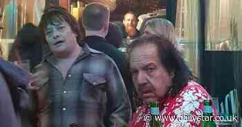 Edward Furlong and Ron Jeremy picture goes viral as fans left astonished by stars' looks - Daily Star