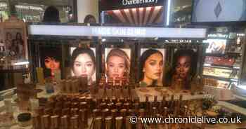 Fenwick launches new Charlotte Tilbury counter in a makeover of a prime location in the Newcastle store