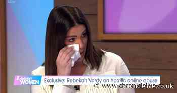 Tearful Rebekah Vardy discusses Coleen Rooney scandal on Loose Women