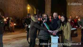 Nuovi luci per le mura di Montagnana, ecco la grande festa - la tribuna di Treviso
