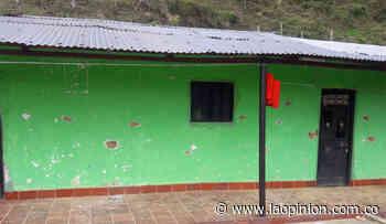 Casa de campesinos recibe 30 tiros en San Calixto, asediado para la violencia - La Opinión Cúcuta