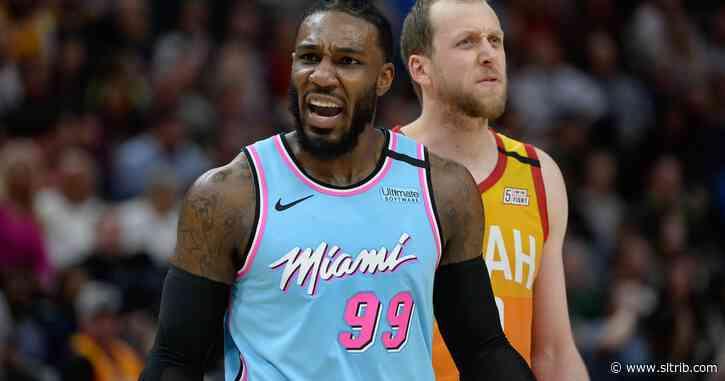 Now wearing a Miami Heat jersey, Jae Crowder returns to Salt Lake City