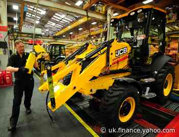 JCB to cut UK factory production over coronavirus supply issues