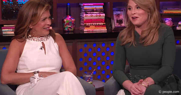 Hoda Kotb Admits She Keeps Forgetting the Name of Today Co-Host Jenna Bush Hager's New Baby