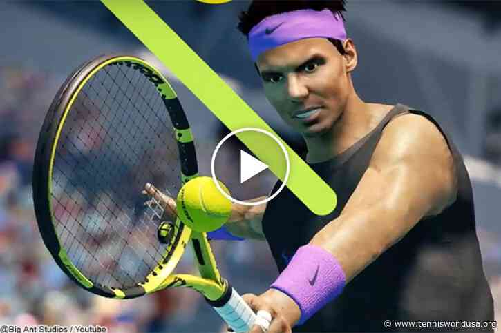 Rafael Nadal features in new tennis video game, but Roger Federer is left out