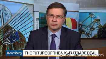 U.K. Divergence With EU Rules Will Limit Market Access: Dombrovskis