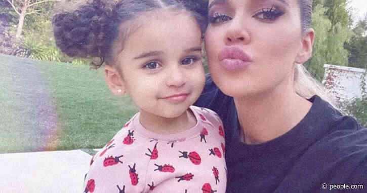 Pucker Up! Khloé Kardashian Shares Snuggly Selfie with 3-Year-Old Niece 'Dreamy Dream'