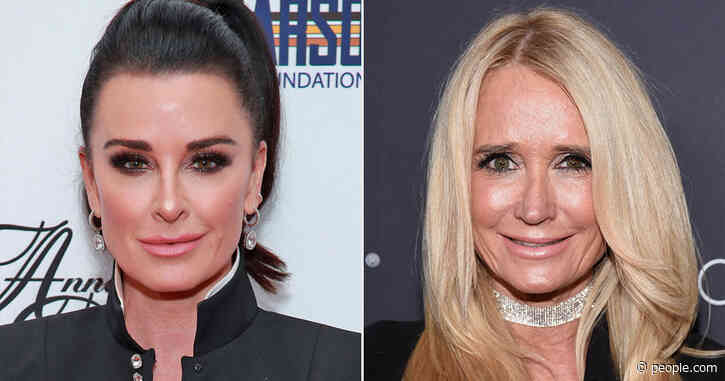 Kyle Richards Says Sister Kim Didn't Tell Her She Was Writing a Tell-All Memoir: 'I'm Curious'