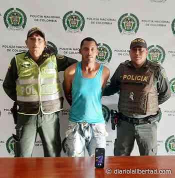 Policía captura atracador en Galapa - Diario La Libertad