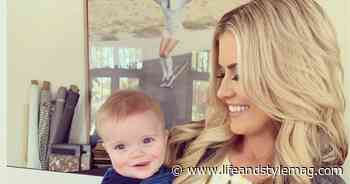 Christina Anstead Says Baby Hudson Has Ant Anstead's 'Grin': Photo - Life&Style Weekly