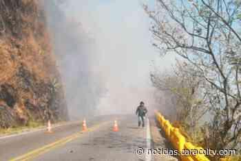 Habilitan la vía Bello – Don Matías que presentaba cierre por incendio forestal - Noticias Caracol