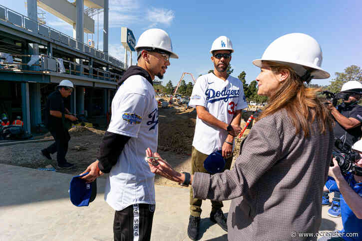 Photos: Dodger Stadium improvements on track for opener
