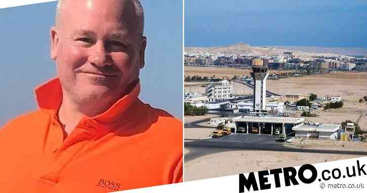 British dad jailed in Egypt 'for patting airport security guard on back'