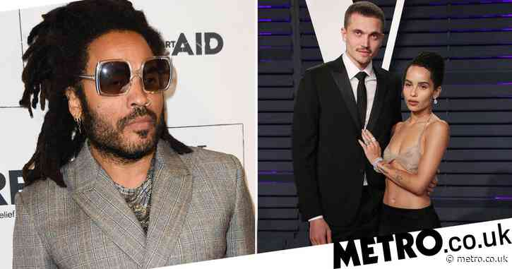 Lenny Kravitz's speech for Zoe Kravitz's wedding was so beautiful she started crying