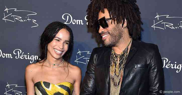 Zoë Kravitz Says She 'Was in Tears' After Hearing Dad Lenny's Speech at Her Wedding