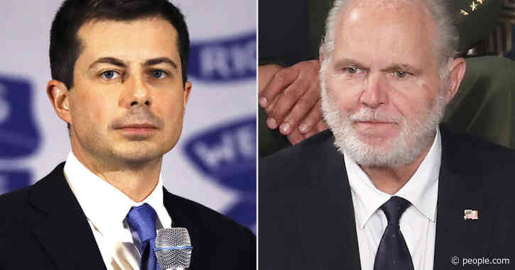 Days After Controversial Presidential Award, Rush Limbaugh Goes After Pete Buttigieg for Being Gay